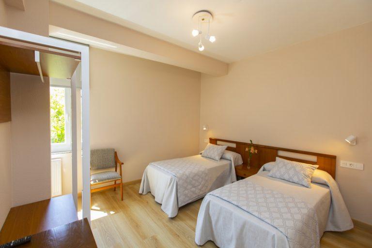 Habitación doble con 2 camas individuales